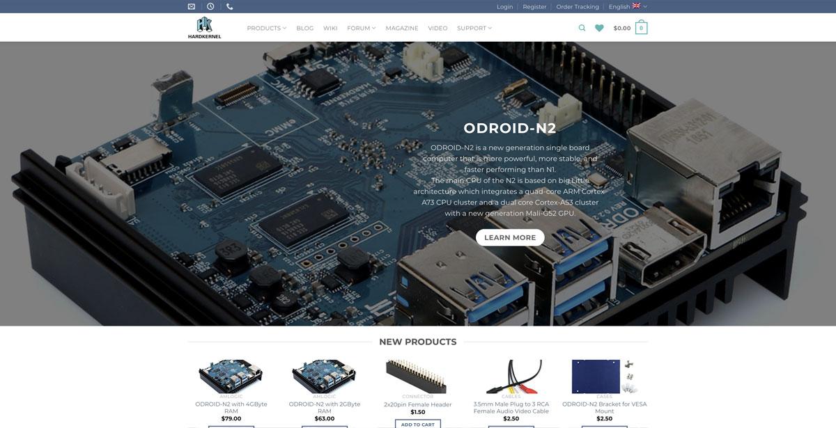 hardkernel site