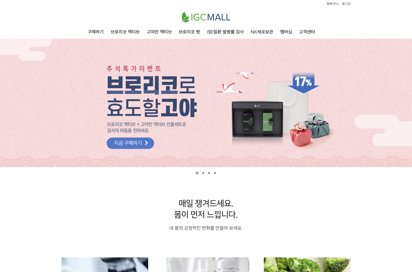 subscriptions igcmall